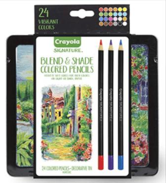 Crayola Signature Blend & Shade Soft Core Colored Pencils