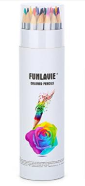 FUNLAVIE Colored Pencils