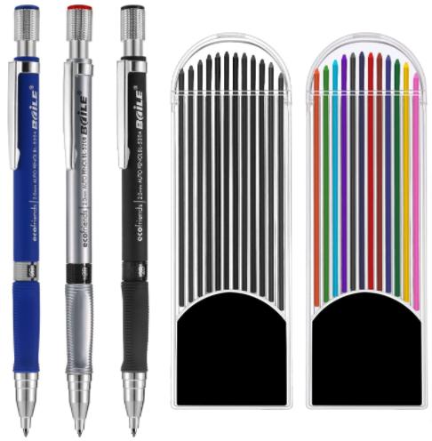 Jovitec 3 Pieces 2.0 mm Mechanical Pencil