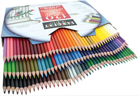 Sargent Art 120 Piece Assortment Colored Pencils (22-7252)
