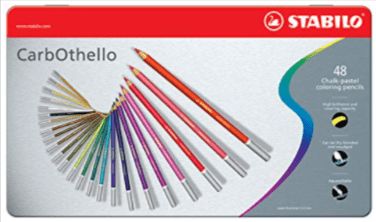 Stabilo CarbOthello Chalk-Pastel Colored Pencil