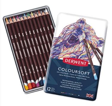 Derwent Drawing Set of 12 Pencils