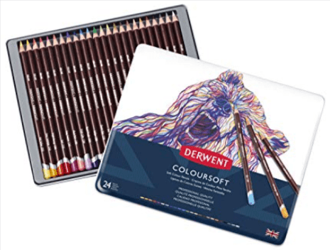 Derwent Drawing Small-Sized Pack-24 Pencils