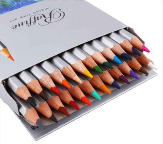 Marco Raffine Assorted Professional Drawing Colored Pencils
