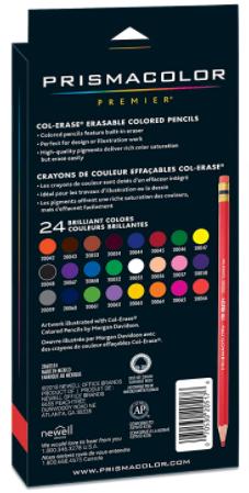 Prismacolor Col-Erase Erasable Colored Pencil