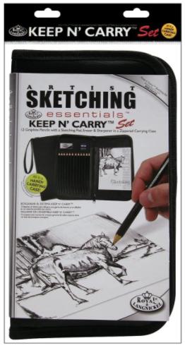 Drawing and Sketching Pencil Set