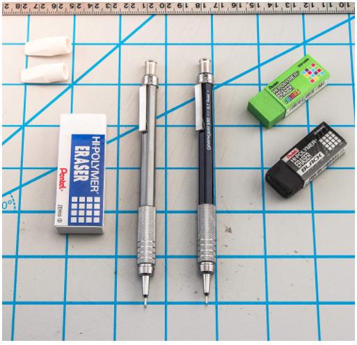 Pentel GraphGear 500 Automatic Drafting Pencils