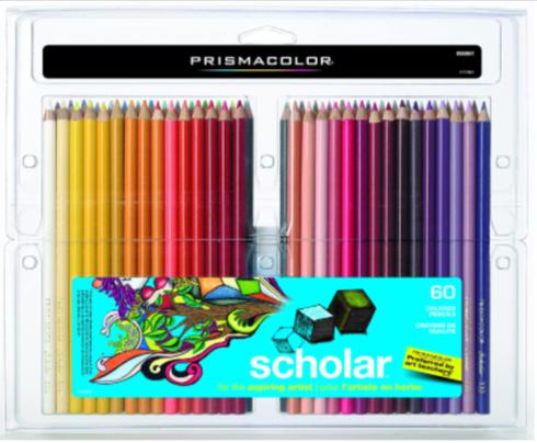 Prismacolor 92808HT Scholar Colored Pencils