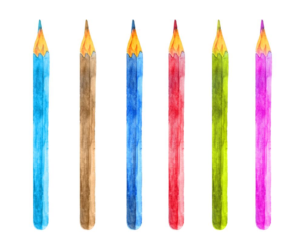 Best Watercolor Pencils For Dolls