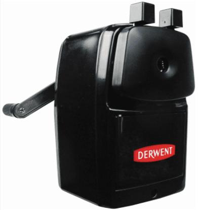 Derwent Super Point Manual Helical Pencil Sharpener